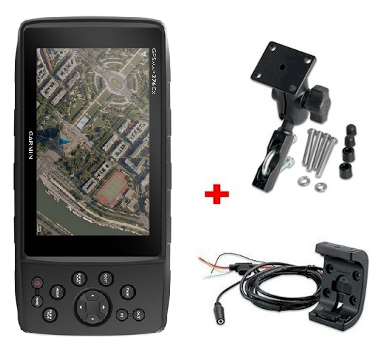 pack moto 4x4 gps garmin gpsmap 276cx zona outdoor. Black Bedroom Furniture Sets. Home Design Ideas