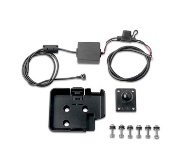 85fd67102 Placa fijación soporte RAM Garmin Zumo, Nuvi 500 series + cable alimentación