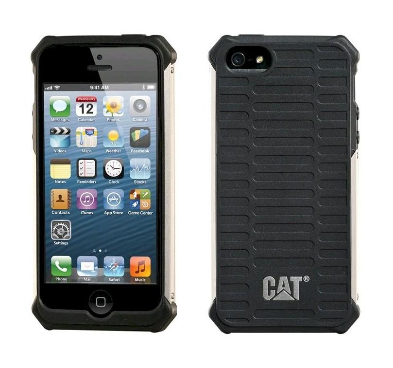 0e47df6fbe3 Funda protectora Caterpillar Active Urban negra iPhone 5 y 5S | Zona ...