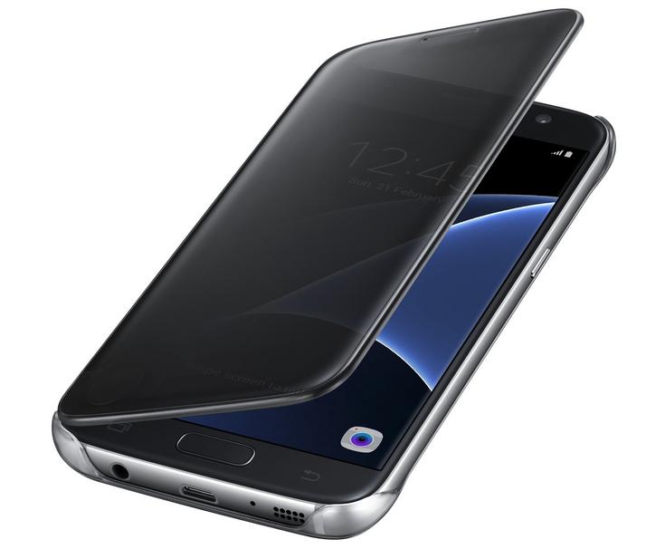 06288c8ebbc Funda Samsung Clear View para Galaxy S7 negra | Zona Outdoor