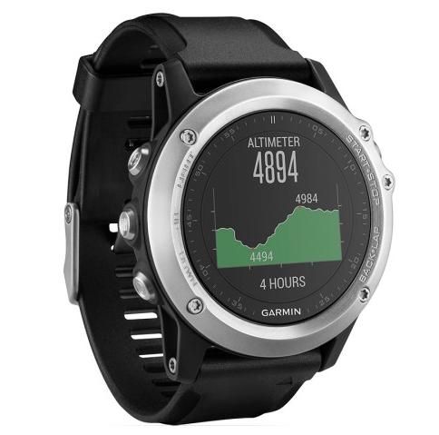 7a3fe578cf2b Reloj GPS Garmin Fenix 3 HR Plata