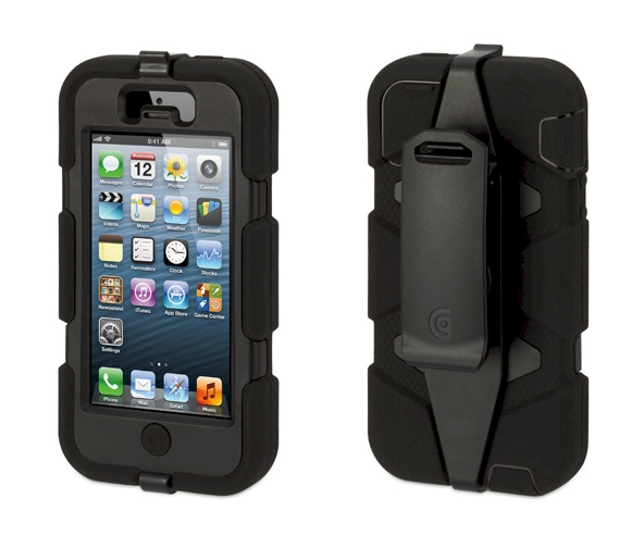 de07fb68c2e Griffin Survivor Funda protectora para iPhone 5 negra | Zona Outdoor