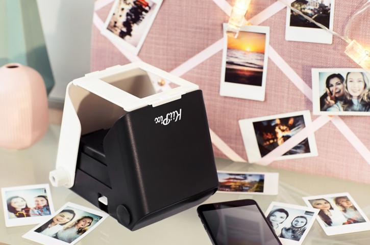 Kiipix Jet Negra Impresora Foto Smartphone Instantanea Zona Outdoor