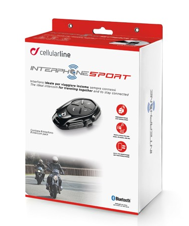 Intercomunicador Interphone Sport