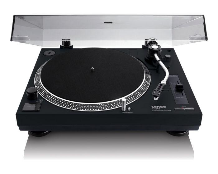 Consejo sobre tocadiscos Dual o Audio Tecnica Lenco_l3808_negro