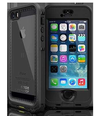 04220533769 Funda protectora Lifeproof Nuud negra iPhone 5S | Zona Outdoor