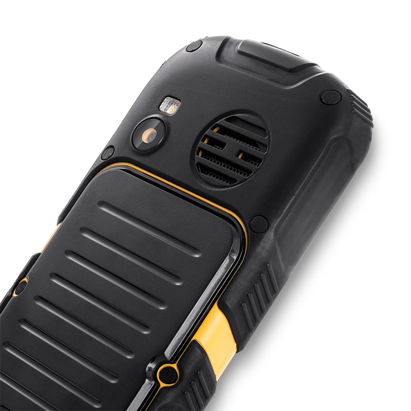 553ca1be738 Teléfono móvil robusto MyPhone Hammer 2+ Plus negro-amarillo | Zona ...