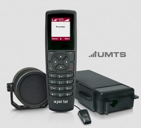 Teléfono GSM-3G Peitel PTCar Phone 4 Para Vehículo