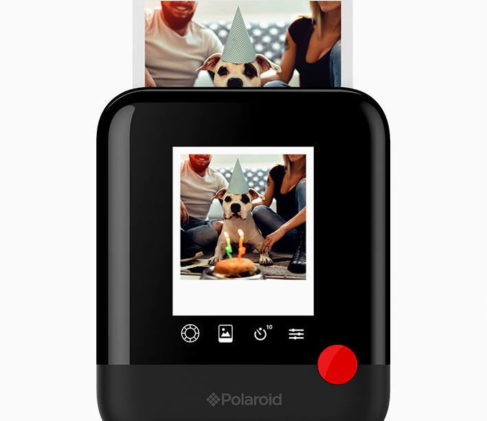 3b02a93c3c Polaroid Pop negra, cámara-impresora digital instantánea | Zona Outdoor