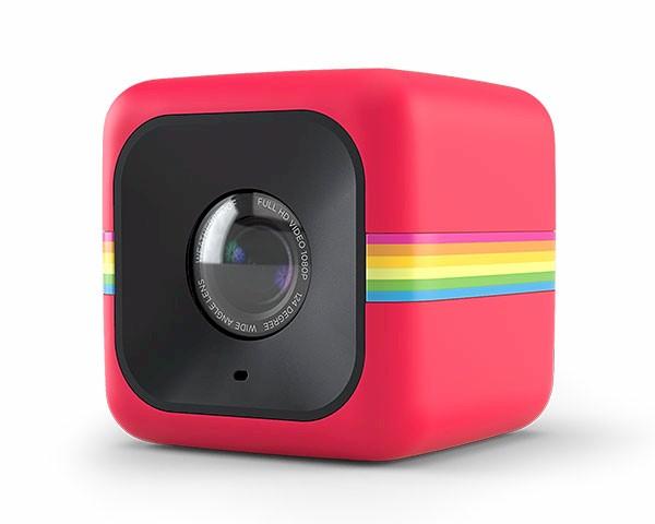 e97fe2fbe7 Polaroid Cube roja, mini-cámara Full HD 1080p | Zona Outdoor