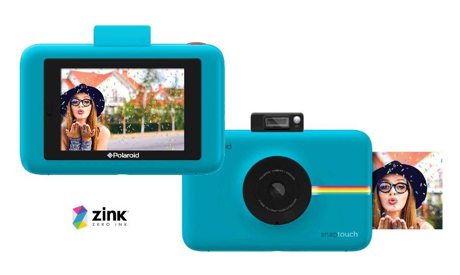 9cb0be00f849e Polaroid Snap Touch azul