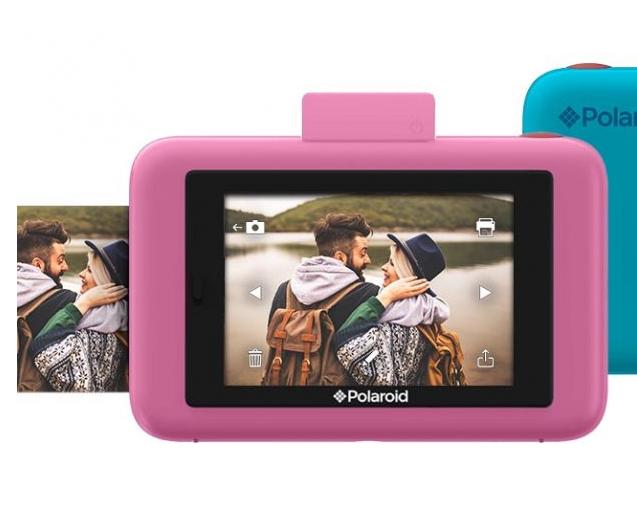 915346400b2e2 Polaroid Snap Touch rosa, cámara digital instantánea   Zona Outdoor