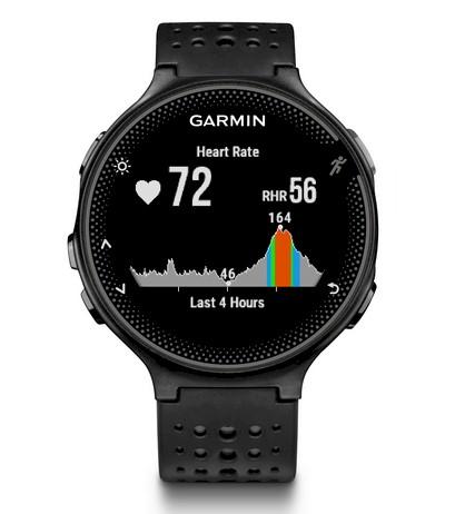 2af3261d0b Reloj GPS Garmin Forerunner 235 negro-gris