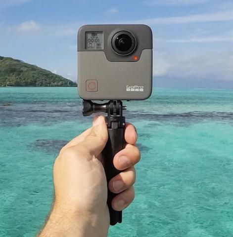 GoPro lanza la Fusion