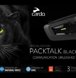 Nuevo intercom moto Cardo PackTalk BOLD Black edition
