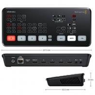 Mezclador capturadora de video Blackmagic ATEM mini con 4 entradas HDMI