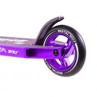 Patinete Bestial Wolf Booster B18 Lila con horquilla nueva