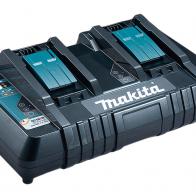 Cargador doble baterias Makita DC18RD, original y nuevo.