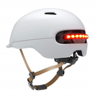Casco Scooter Smart4U SH50 blanco con luz inteligente integrada