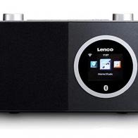 Radio Internet Lenco DIR-70 negro, WiFi y Bluetooth