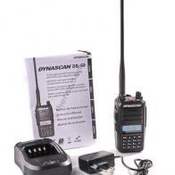 Dynascan DB-59 Walkie doble banda VHF-UHF para radioaficionado
