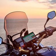 Garmin Zumo XT, Navegador todoterreno para motocicleta de 5,5 pulgadas montado
