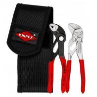 KNIPEX Juego de alicates mini con funda de cinturón