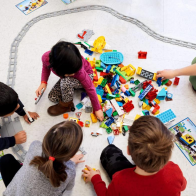 Lego Coding Express, tren programable educativo