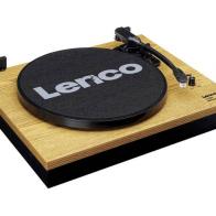 Tocadiscos Lenco LS-300 madera con altavoces