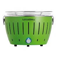 mini barbacoa Lotusgrill G280 verde sin humos