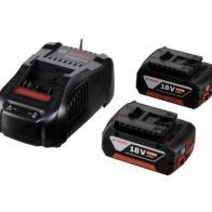 Pack 2 baterias Bosch GBA 18V 5.0Ah con cargador GAL1880