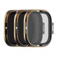 Pack 3 filtros PolarPro SHUTTER para GoPro Hero 8 Rollcage