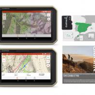 Pcak Garmin Overlander con mapas Topo España V7 Pro