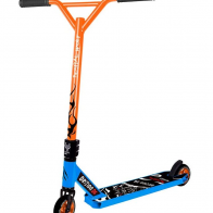 Patinete Scooter Bestial Wolf Demon D6 azul naranja