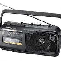 Radio cassette Panasonic RX-M40DE-K negro