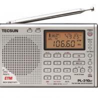 radio multibanda Tecsun PL-310ET negro