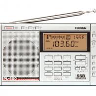 Radio Multibanda Tecsun PL-600 Plata