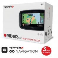 edicion especial Pack Premium TomTom Rider 550 world