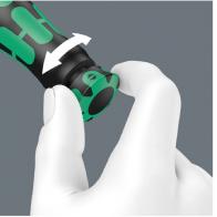 WERA Click-Torque A5 Llave dinamométrica,290mm, 2,5 a 25Nm