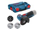 mini amoladora Bosch GWS 12V-76 Professional con maletín