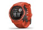 Reloj GPS Instinct solar rojo