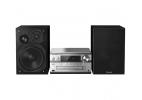Panasonic SC-PMX94EG-S - Microcadena Hi-Fi (120 W RMS, Radio Digital Dab+, CD, Radio FM, Bluetooth, USB, AUX), Color Plata