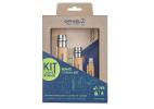 Opinel nomad cooking kit de cocina para camping y excursionismo