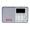 Radio Tecsun Q3 Azul con grabadora