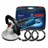 La Bosch GBR 15 CA Professional es una lijadora de hormigón de 1500W
