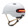 Casco Scooter Smart4U SH50 blanco con luz inteligente integrada