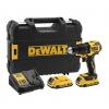 DeWalt DCD709D2T-QW, Taladro impacto con dos baterías 18V 20A y maletón