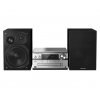 Panasonic SC-PMX94EG-S - Microcadena Hi-Fi (120 W RMS, Radio Digital Dab+, CD, Radio FM, Bluetooth, USB, AUX), Color Plata